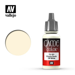72101 Blanco Sucio (Off White) 17ml. Game Color