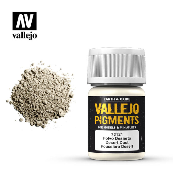 73121 Polvo Desierto (Desert Dust) 35ml. Vallejo Pigments