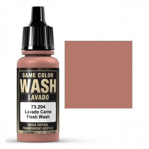 73204 Lavado Carne (Flesh Wash) 17ml. Game Color Wash