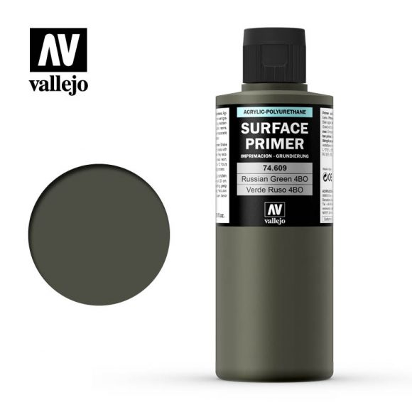 74609 Verde Ruso 4BO (Russian Green 4BO) 200ml. Surface Primer