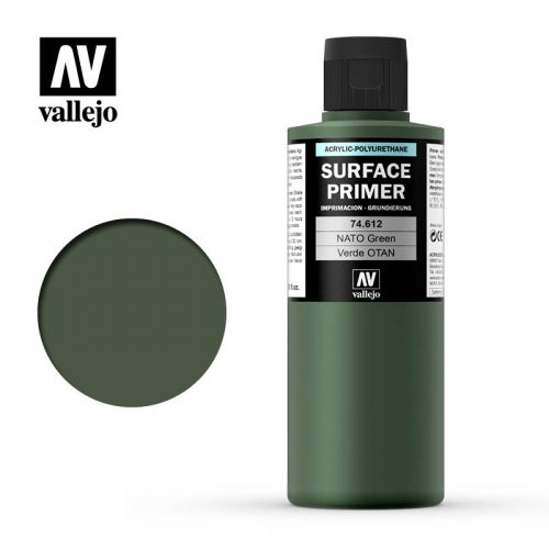 74612 Verde Nato (Nato Green) 200ml. Surface Primer
