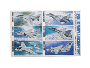 Kit de Aviones U.S. Navy Aircraft 1 Kit Escala 1/350. Modelos a Escala Tamiya