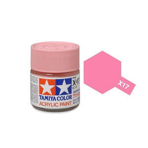 X-17 Rosa (Pink)  23ml. Tamiya Color X Grande Brillante