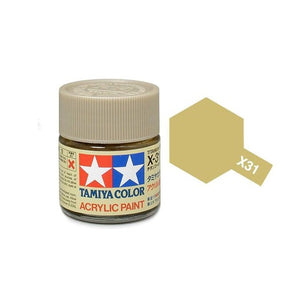 X-31 Titanio Dorado (Titanium Gold) 23ml. Tamiya Color X Grande Brillante