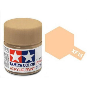 XF-15 Carne Mate (Flat Flesh) 23ml. Tamiya Color XF Grande Mate
