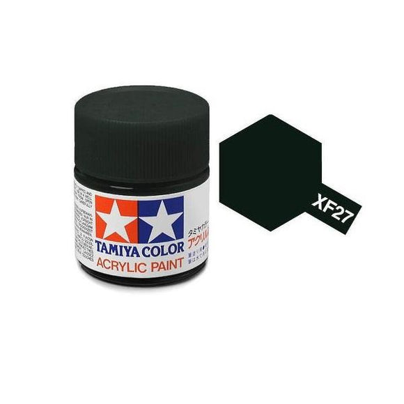 XF-27 Verde Negro (Black Green) 23ml. Tamiya Color XF Grande Mate