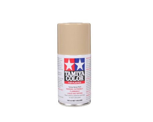 TS-68 Cubierta De Madera (Wooden Deck Tan) 100ml. Tamiya Color Spray Paint