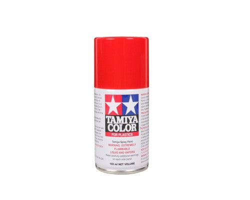 TS-86 Rojo Puro (Pure Red) 100ml. Tamiya Color Spray Paint