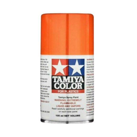 TS-98 Naranja Puro (Pure Orange) 100ml. Tamiya Color Spray Paint