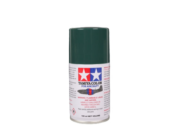 AS-1 Verde Oscuro (IJN Dark Green) 100ml. Tamiya Color Spray Aircraft Paint
