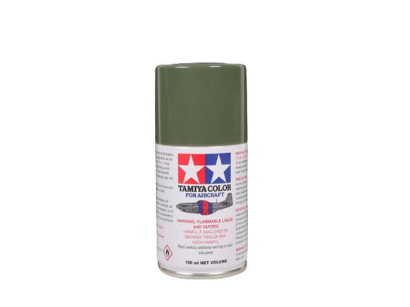AS-14 Verde Oliva (Olive Green USAF) 100ml. Tamiya Color Spray Aircraft Paint