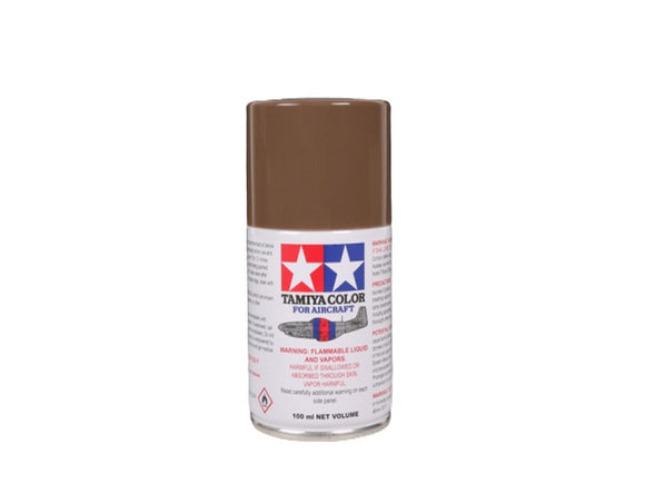AS-22 Tierra Oscura (Dark Earth) 100ml. Tamiya Color Spray Aircraft Paint