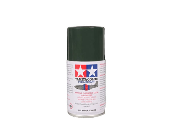 AS-24 Verde Orcuro (Dark Green LUFT) 100ml. Tamiya Color Spray Aircraft Paint