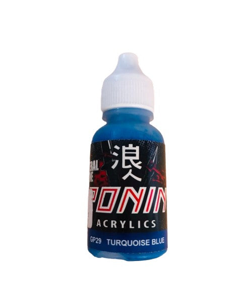 GP29 Turquoise Blue 15ml. General Line Ronin