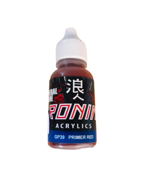 GP39 Primer Red 15ml. General Line Ronin