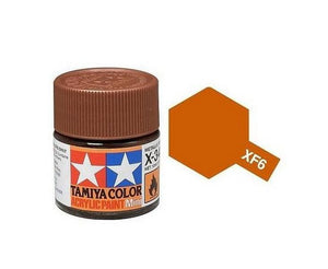 XF-6 Cobre (Copper ) 10ml. Tamiya Color XF Mini Mate