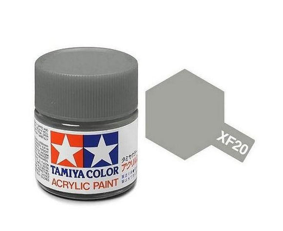 XF-20 Gris (Gray) 10ml. Tamiya Color XF Mini Mate