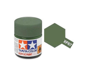 XF-67 Verde (Nato Green) 10ml. Tamiya Color XF Mini Mate