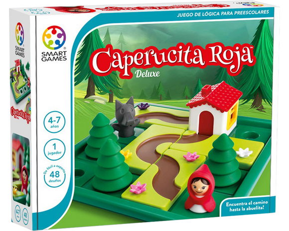 Juego Educativo Smart Games Caperucita Roja Deluxe.