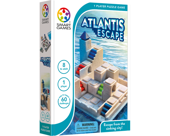 Juego Educativo Smart Games Escapa De Atlantis.