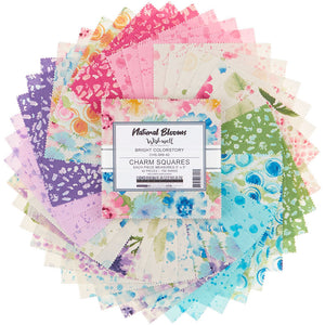 Natural Blooms Bright Charm Pack by Wishwell for Robert Kaufman