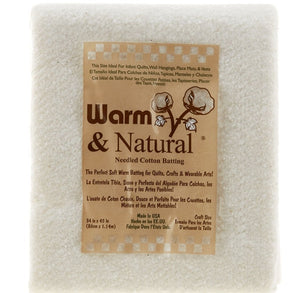 Warm & Natural® Cotton Batting Craft for The Warm Company