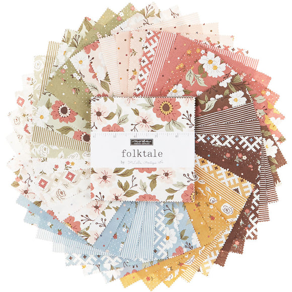 Folktale Charm Pack by Lella Boutique for Moda Fabrics