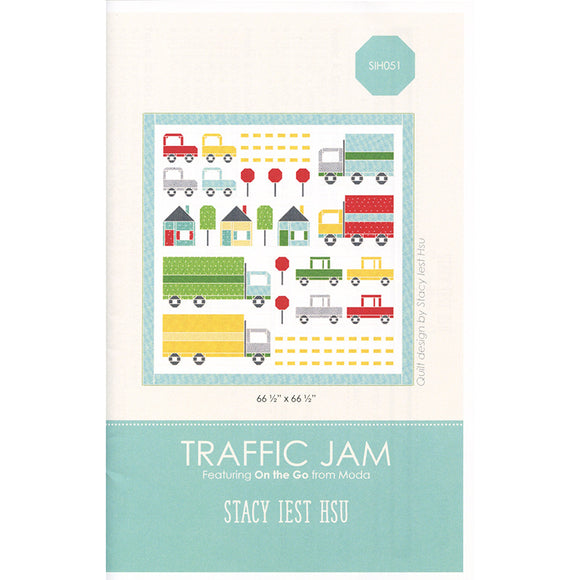 Traffic Jam Pattern by Stacy Iest Hsu for Moda Fabrics