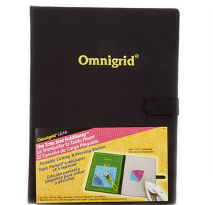 "Omnigrid Foldaway Mid-Size Cutting Mat & Ironing Area 8"" x 11"" for Omnigrid"