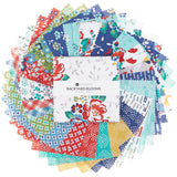 Backyard Blooms Charm Pack by Allison Harris for Windham Fabrics