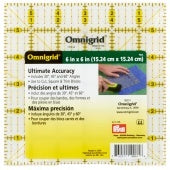 "Omnigrid 6"" x 6"" Ultimate Accuracy Ruler"
