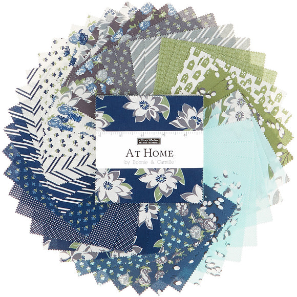 At Home with Bonnie and Camille - Camille's House Charm Pack by Bonnie & Camille for Moda Fabrics