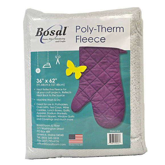 Bosal Poly-Therm Heat Reflective Fleece by Bosal Foam & Fiber