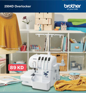 Brother 2504D Overlocker Machine