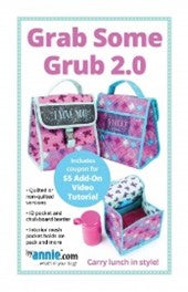 Grab Some Grub 2.0 BAG Pattern by Annie