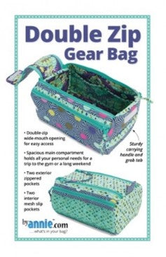 Double Zip Gear Bag pattern by Annie