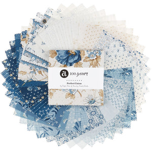 Perfect Union Single Scoops by Edyta Sitar of Laundry Basket Quilts for Andover Fabric