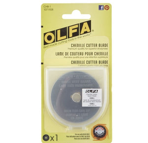 Olfa Chenille Replacement Blade - 1/pkg for Olfa