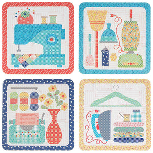 Lori Holt My Happy Place Coasters
