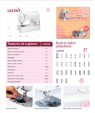 Brother LX27NT Sewing Only Machine
