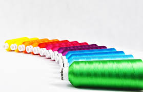 Madeira's 100% polyester machine embroidery thread,