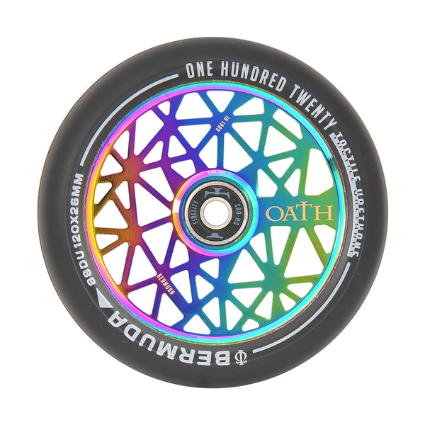 Oath Bermuda 120mm Wheels Neo Chrome