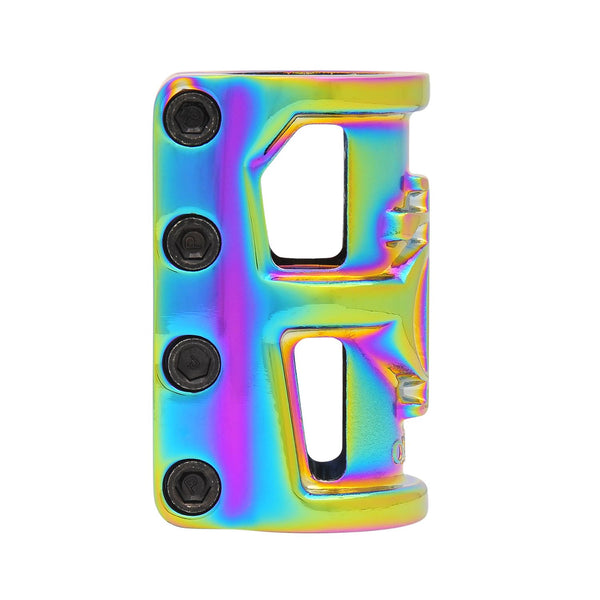 Oath Cage Alloy SCS 4-Bolt Clamp - Neo Chrome