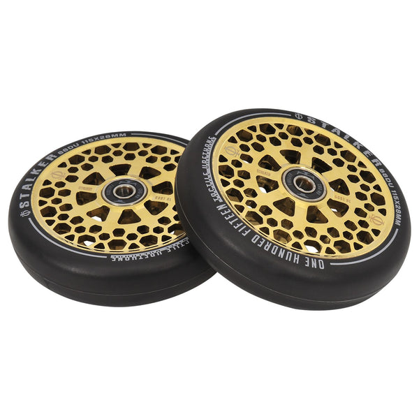 Oath Stalker 115mm x 28mm Wheels - Neo Gold