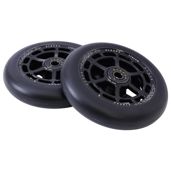 urbanArtt Civic 110 x 24mm Wheels - Black/Black
