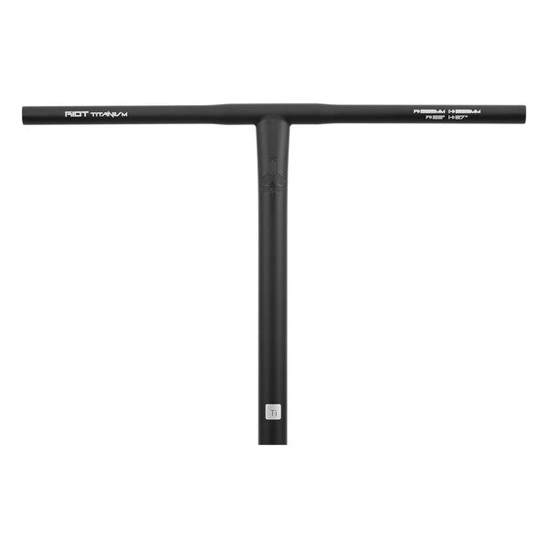 Triad Riot Titanium T Bar Large - Black