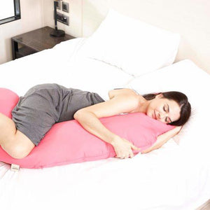 8-in-1 Maternity Pillow Comfort Series - Cooling Touch (Hot Pink)