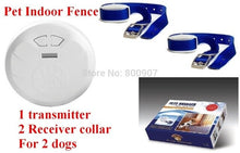 Load image into Gallery viewer, Pet Indoor Wireless Fence Dog training collar Dog Electric Shock Fence Dog Fence Pet Manager for 2 dogs