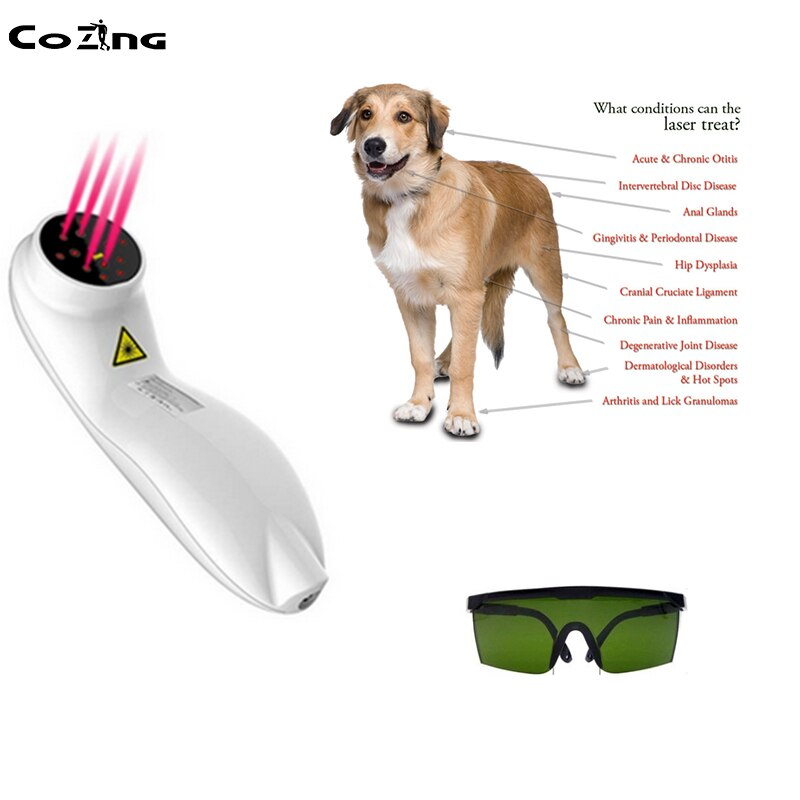 Pain Management Cold Laser Therapy Device Treatment Back Pain Sports Injuries Pet Wound