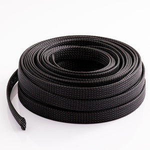 "3/100/200/ 500meters Length  1/8"" 3MM Black Cable Management and Organizer Cover Expandable Braided Cord Sleeve"